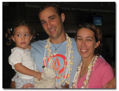 nous 3 à Tahiti