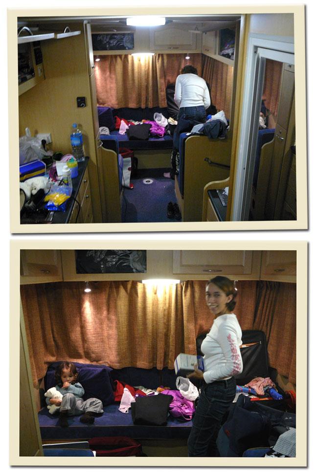 remplir le camping-car
