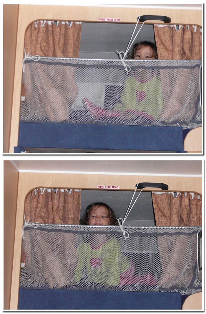 Luna dans sa chambre