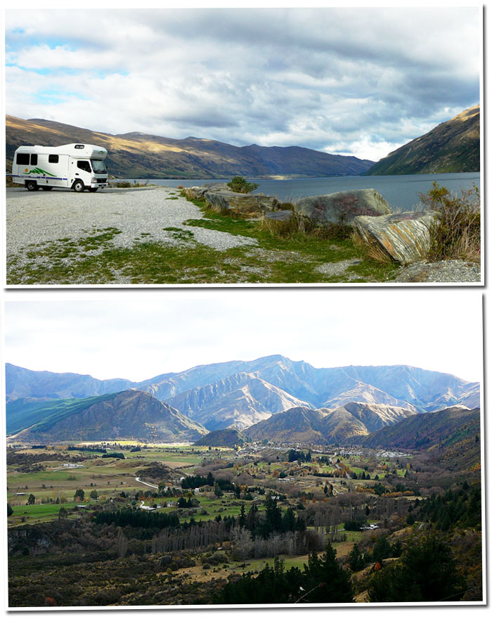 On the road to Wanaka